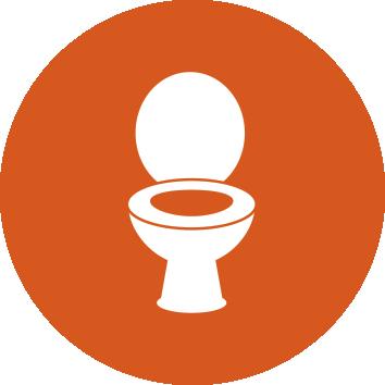 Public toilet icon