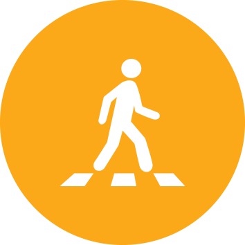 Central Cycle & Pedestrian icon